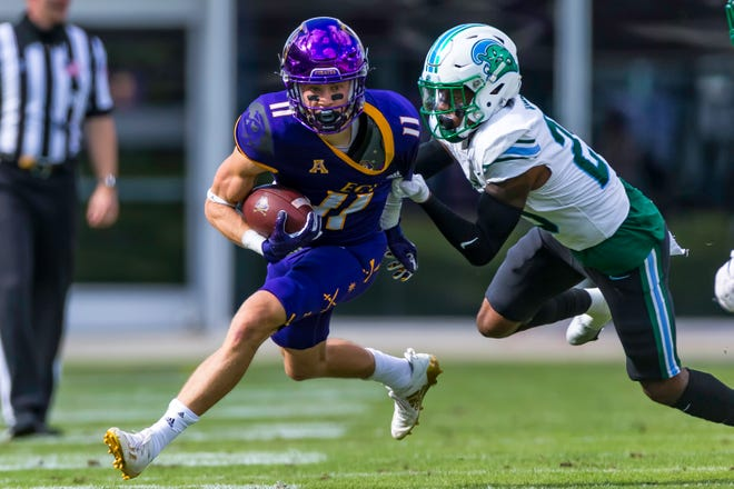 Blake Proehl had 13 catches for 182 yards and two touchdowns in a 38-21 loss to Tulane.