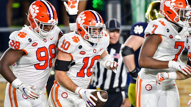 Clemson football vs. Notre Dame: Scoring, photos from the game