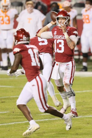 Former Florida quarterback Feleipe Franks is now doing his thing with the Arkansas Razorbacks. He makes his return to The Swamp on Saturday.