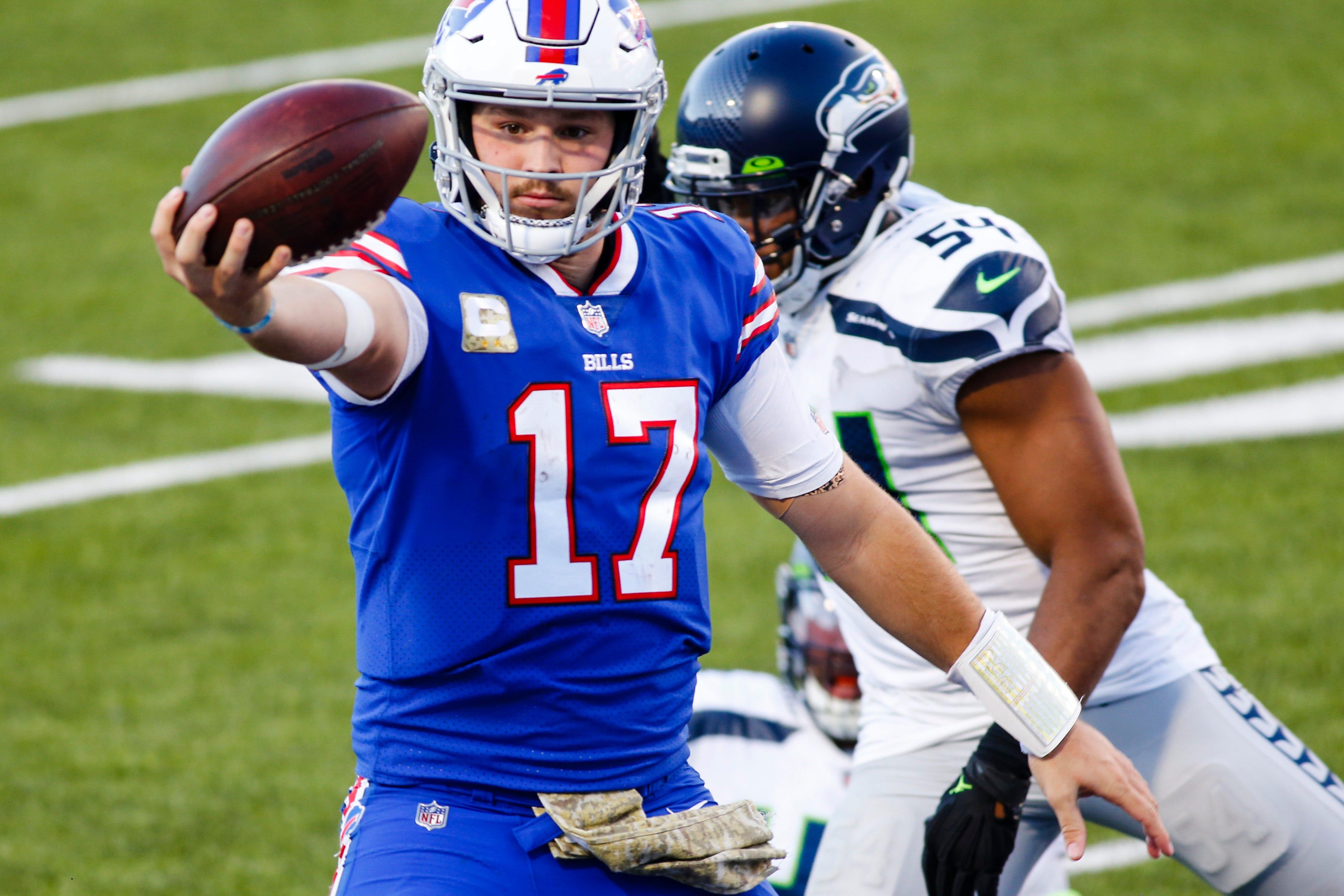 Josh Allen, Bills blast Seahawks in potential statement win