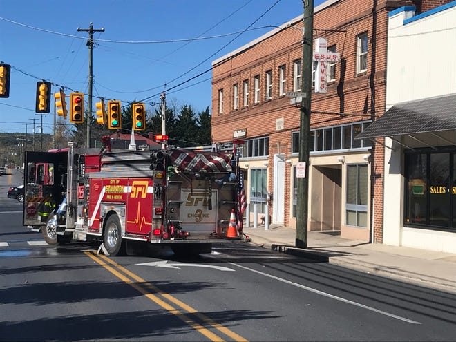 A small fire was reported Sunday morning at the Valley Mission in Staunton.