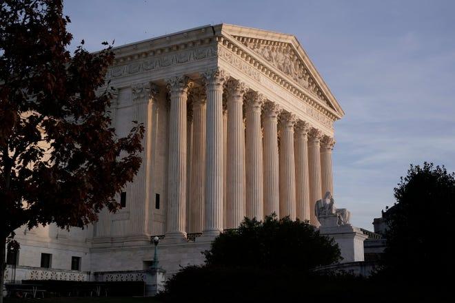 Supreme Court on Nov. 5, 2020, in Washington, D.C.