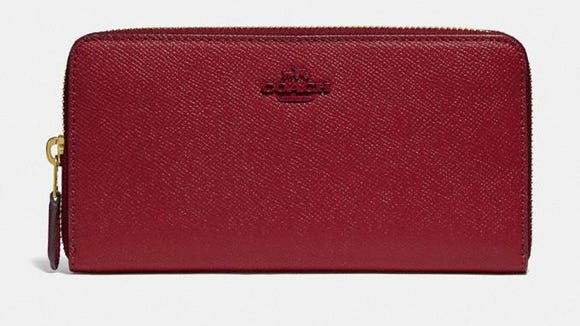 This zip-around wallet currently costs less than $ 75.