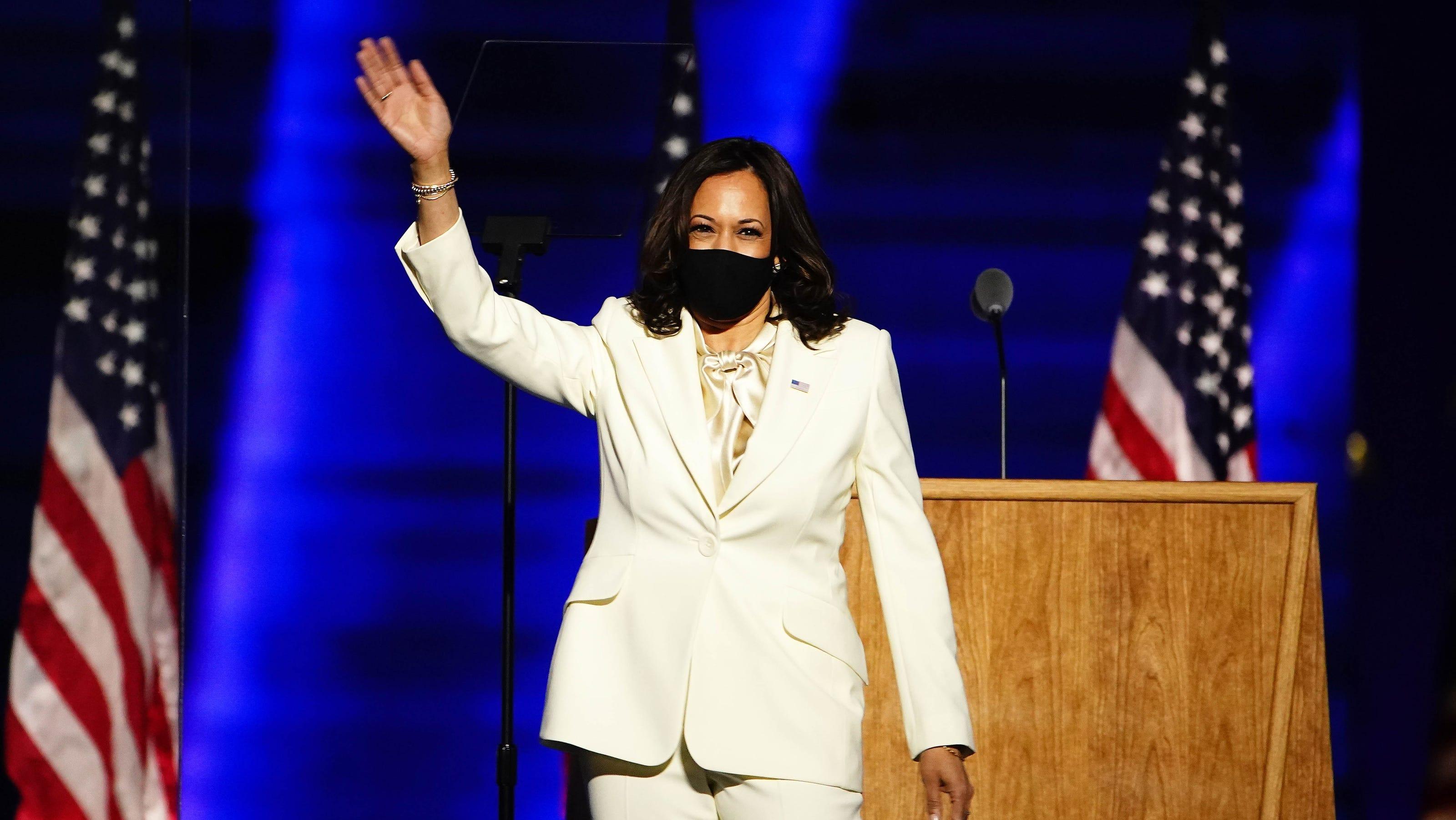 Vice President Kamala Harris First Black South Asian Woman Vp