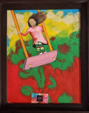 One of the pieces featured in Friday's The HeArt of CASA virtual artwalk.
