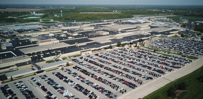 A former facilities manager at Honda's vehicle manufacturing center in Marysville has admitted defrauding the automaker out of more than $750,000.