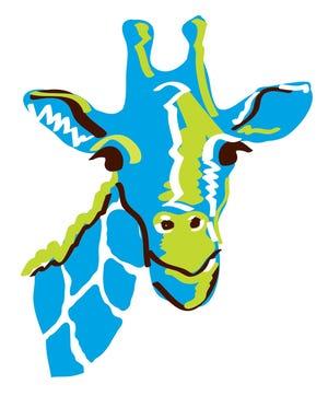 The Blue Giraffe