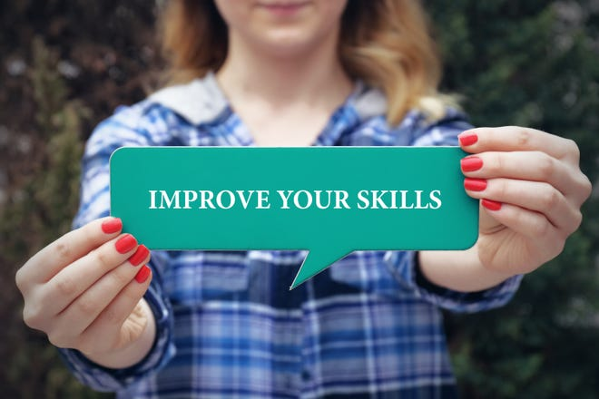 To move your career forward, you might need to improve some of your current skills.