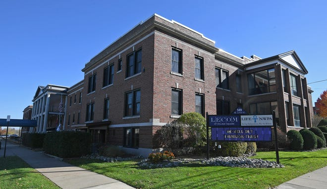 LECOM Health is opening a second skilled-nursing unit devoted specifically to the post-acute care of patients with COVID-19. The 50-bed unit will be at LECOM at Village Square, a 110-bed skilled-nursing facility, shown on Monday and located at 149 W. 22nd St. in Erie.