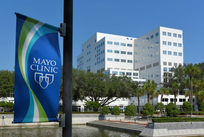 The Mayo Clinic's Jacksonville campus is at 4500 San Pablo Road on the Southside.