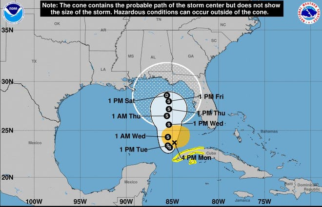 The National Hurricane Center, as well as Northeast Florida meteorologists and Emergency Management Agency officials,  are monitoring the path of Tropical Storm Eta.
