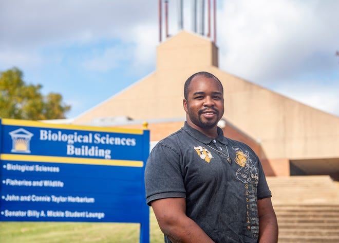 Darrin Wade is completing his third college degree with plans to attend medical school.