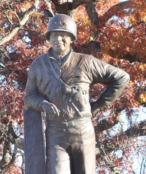 Moberly VFW Post 2654 will host a public Veteran's Day service at 11 a.m. Wednesday. The program will be led by Post Commander Chris Wertz. Moberly has a major tie to World War II history through Gen. Omar N. Bradley, the most recent 5-star U.S. Army General, who has a statue recognizing him in Moberly's Rothwell Park. Bradley was born in Randolph County and graduated from Moberly H.S. He was the nation's first Chairman of Joint Chiefs of Staff and is famous for being the commander of the 12th Army Corps during World War II. Bradley died at the age of 88 on April 8, 1981.