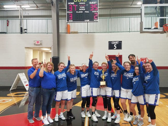 The HEART Falcons girls basketball team placed first at the 6th Annual SE Region Tipoff Tournament in Suwanee, Georgia over the weekend.