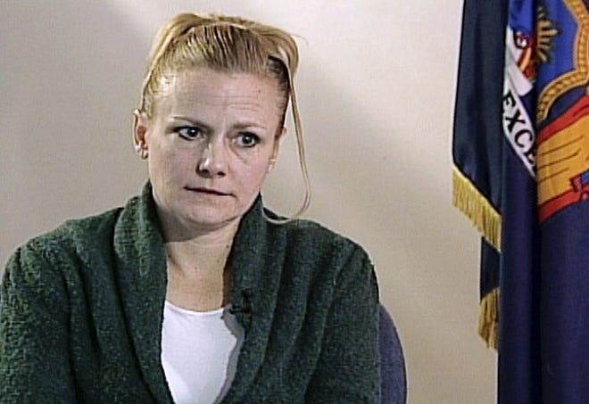 The state won't review Pam Smart's murder conviction as suggested by her attorney after new information came to light last week about the prosecutor in her case. Smart, pictured, is serving a life sentence for being an accomplice to the May 1, 1990, murder of her husband, Gregory Smart, in their Derry condominium.