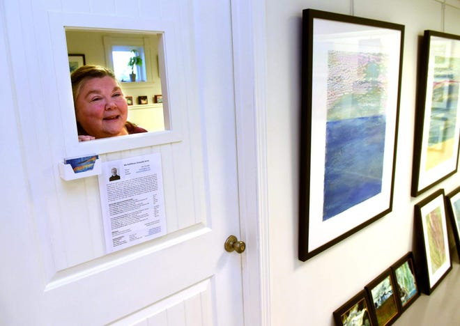 Karen Desrosiers founded the Lane House Arts Center in Hampton earlier this year.  The center has seven artist studios, a gallery, and a teaching space.
