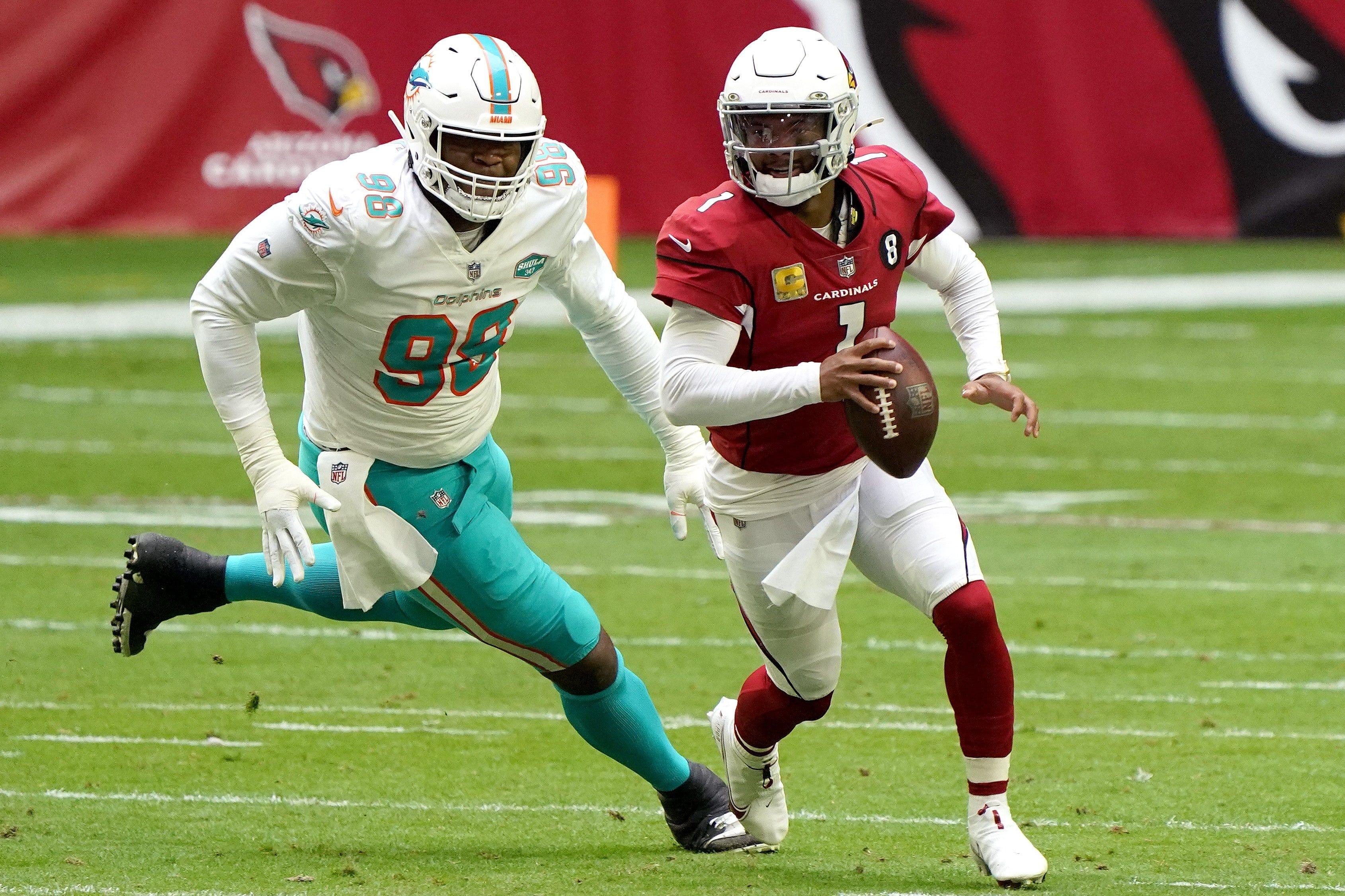 Miami Dolphins' towering tough guy Raekwon Davis turns around rookie season