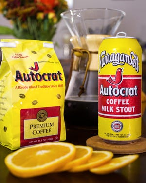 Narragansett Beer has brought back another season of Autocrat Milk Stout
