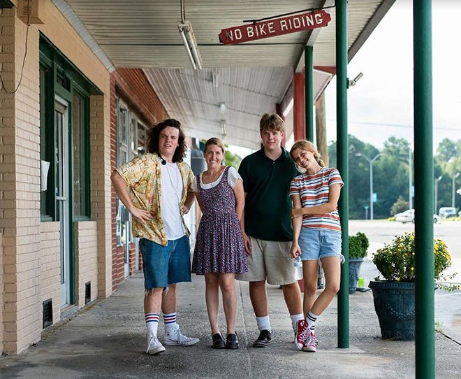 """""""Drought"""" screens at the Cucalorus Curbside Cinema drive-in on Nov. 13. The homecoming screening for this festival hit by Wilmington filmmakers Megan Petersen and Hannah Black about an epic road trip taken by an autistic teen, his sisters and their friend."""