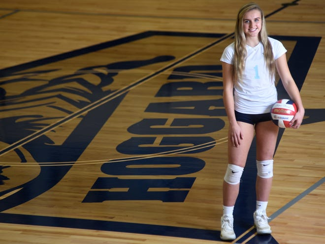 Hoggard's Martin-Maine Wrangell was the StarNews all-area volleyball player of the year for 2019 and leads a strong group of returning players for the upcoming season. [STARNEWS FILE PHOTO]