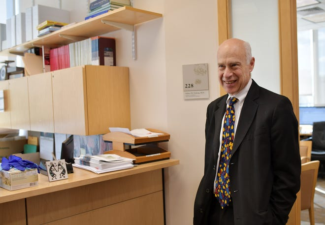 Dr. Robert W. Finberg, an infectious disease specialist at UMass, in March 2020.