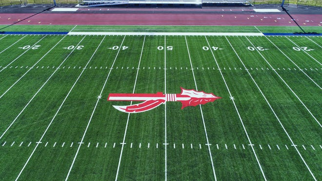 Indian Valley along with Sandy Valley are the latest schools to have artificial turf.