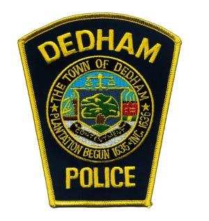 Dedham Police Department patch