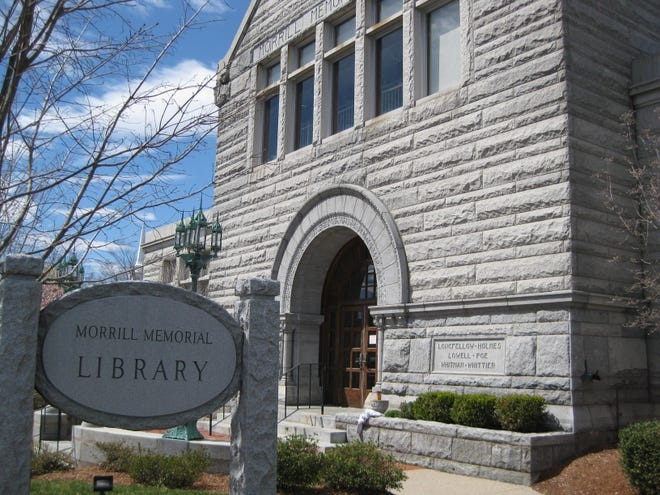 Morrill Memorial Library, Norwood, Mass.