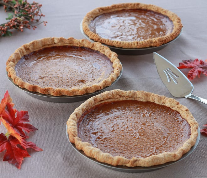 Same pumpkin pie filling recipe. Three different crust recipes. Which provided the best base? A Higgins Eats Ingestigative report has the answer.