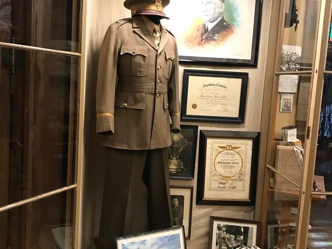 The Mansfield Memorial Museum has an exhibit of items belonging to Brig. Gen. Frank Purdy Lahm, who was born in Mansfield on Nov. 17, 1877, and died in 1963. The Mansfield Regional Lahm Airport is named for the aviator, who was instrumental in procuring the first military plane from the Wright Brothers for the U.S. Army Signal Corps. A new museum, the Frank P. Lahm Aviation Museum, has begun a campaign to raise $45,000 for the museum, 40 Park Ave. W., next to the Soldiers and Sailors Memorial Building.
