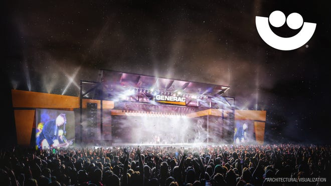 The Generac Power Stage will replace the Harley-Davidson Roadhouse at Summerfest, starting in 2021.