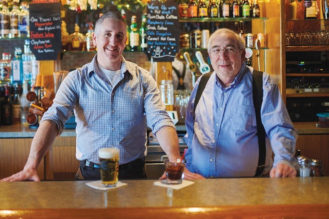 Rick Loch (right), owner and founder of Ricardo's, shown with son Rich Loch, died Oct. 26 at the age of 75.