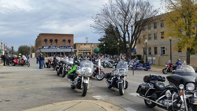 The ABATE District 16 Toy Run for Christmas Wish will be held this Sunday, with riders gathering at the Baxter County Courthouse square in downtown Mountain Home at noon and then riding to the Moose Lodge at 1 p.m. to enjoy a sack lunch. Admission to the event is a new, unwrapped toy valued at $10 or more or a $10 donation per participant.