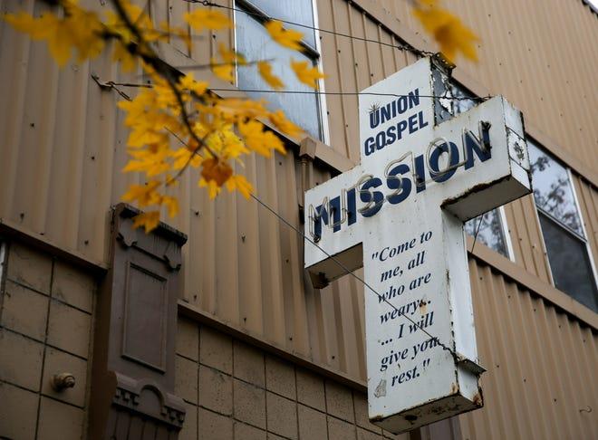 Union Gospel Mission on Monday, Nov. 9, 2020 in Salem.