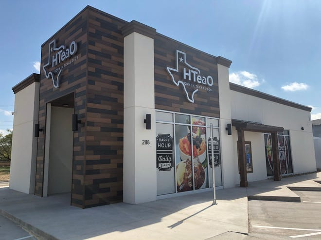 HTeaO of San Angelo will be run by franchisee Bryan Benson and general manager Frank Diaz at 2118 S. Bryant