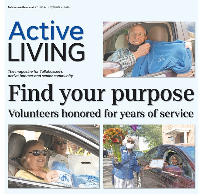 The November 2020 issue of Active Living.