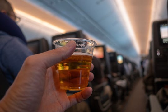 Starting Nov. 17, United Airlines will resume selling wine and beer to passengers on flights from Denver to eight destinations: Boston;Chicago;Honolulu;Houston;Los Angeles;Newark, New Jersey; San Francisco; and Washington, D.C.