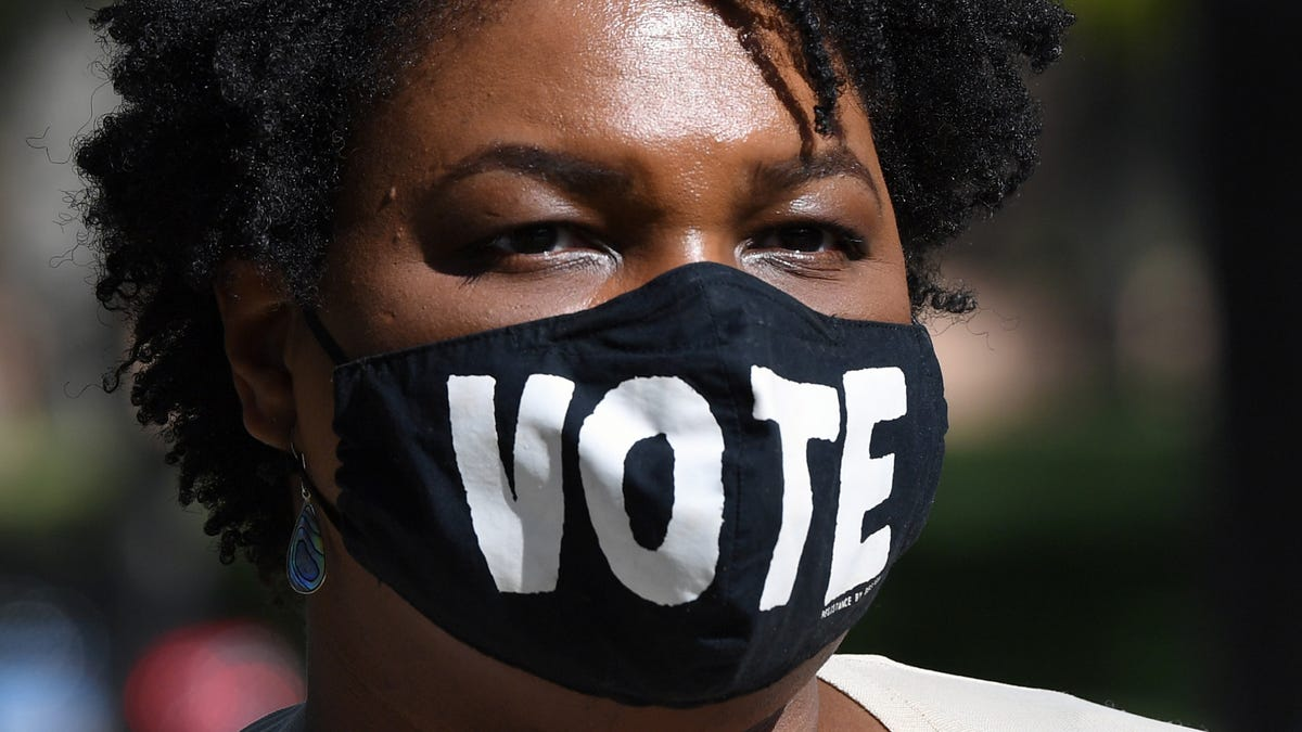 Michelle Obama, Stacey Abrams team up, issue call to action on voting rights