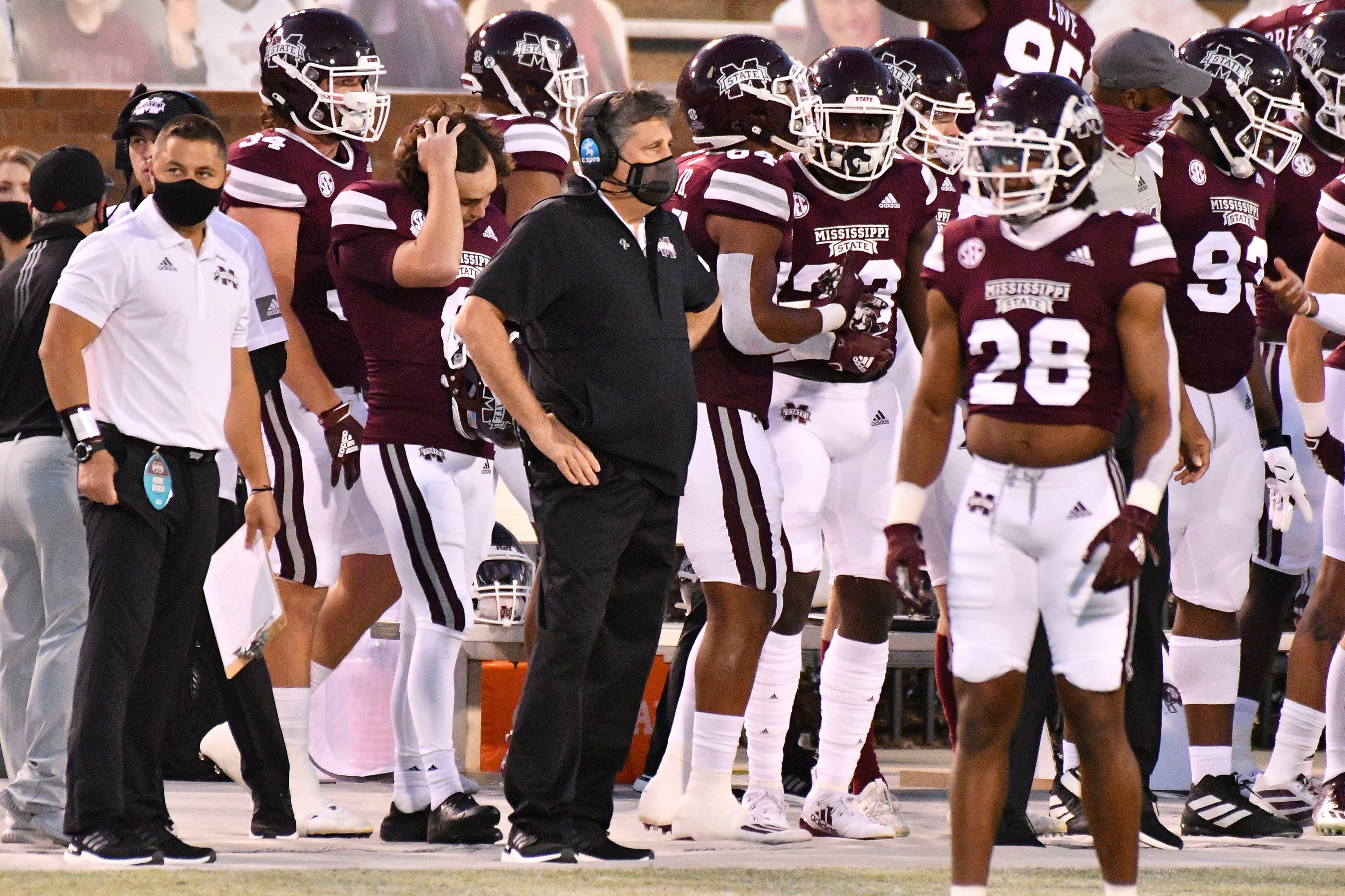 College football coronavirus updates: Mississippi State to play with fewer than 53 scholarship players, per reports