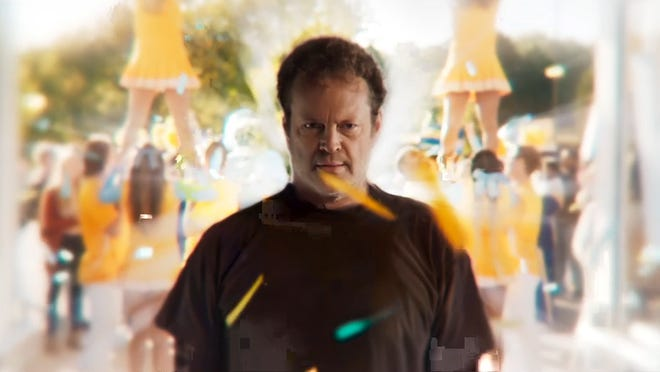 "Vince Vaughn plays a serial killer that switches bodies with a teenager in the new horror comedy ""Freaky."""