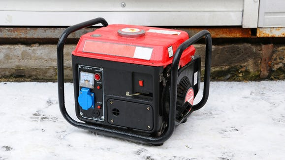 Buy a generator before a winter storm hits.