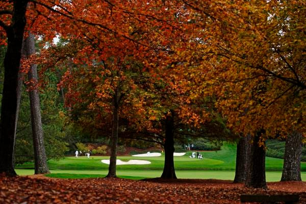 The Masters continues with its first fall tournament this weekend.