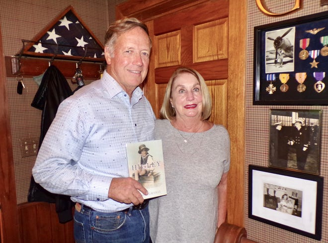"""James Grabau of Boone recently wrote a book entitled """"Higley,"""" about his father-in-law."""