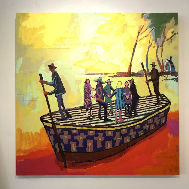 """Sunday"" by Ric Haynes is part of the ""Hope"" exhibit at Cotuit Center for the Arts."