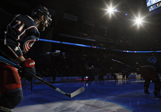Captain Nick Foligno and the rest of the Blue Jackets are in limbo as the NHL and the players try to determine how and when to play the 2020-21 season.