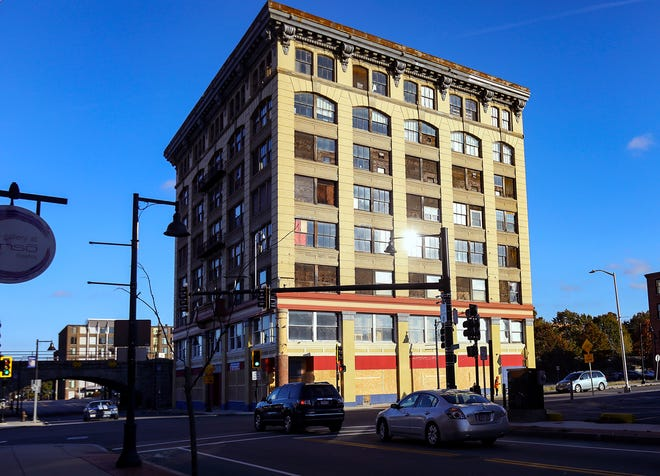 In downtown Brockton, 93 Centre St. is officially vacant, pictured Wednesday, Nov. 4, 2020.
