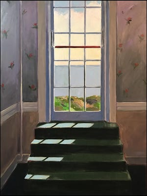"""""""Door to the Sea"""" by artist James Kimak is part of the Creating in Isolation exhibit at the Art Center in Dover and online through December."""