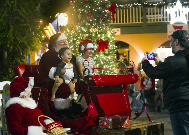 Taking the kids to the mall for a visit with Santa may not be an option this holiday season. Let them give their wish list to the jolly old elf via telephone by signing them up for Phone Calls from Santa, hosted by St. Johns County Parks & Recreation Dec. 8-10.