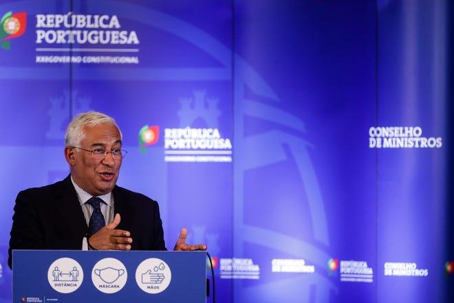 Portuguese Prime Minister António Costa. TIAGO PETINGA/LUSA