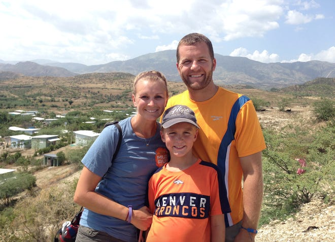 Mhari and Ric Turner and their son, Bryson, have been to Haiti together two times, in 2014 and 2015, and to the Dominican Republic in 2019.